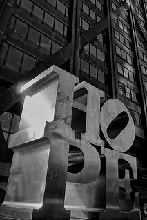 Hope, by Robert Indiana | by Neilheeney