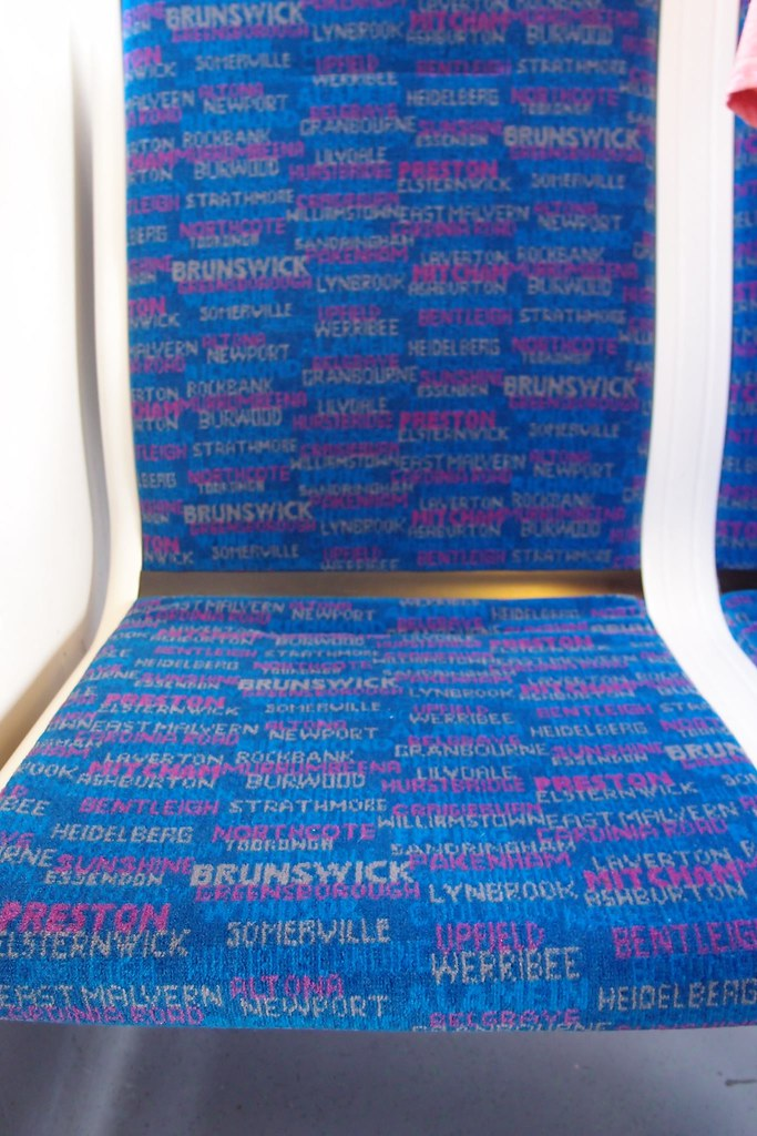 Seat Cover World >> Metro Siemens seat cover trial   Daniel Bowen   Flickr