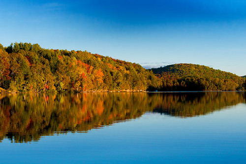 Lac ouimet mont tremblant please for Lac miroir mont tremblant