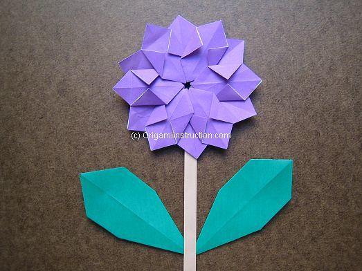 Origami modular flower tutorial origamiinstruction flickr origami modular flower by origamisin origami modular flower by origamisin mightylinksfo