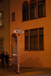 19514 Where's Waldo? sign and pole | by geekstinkbreath