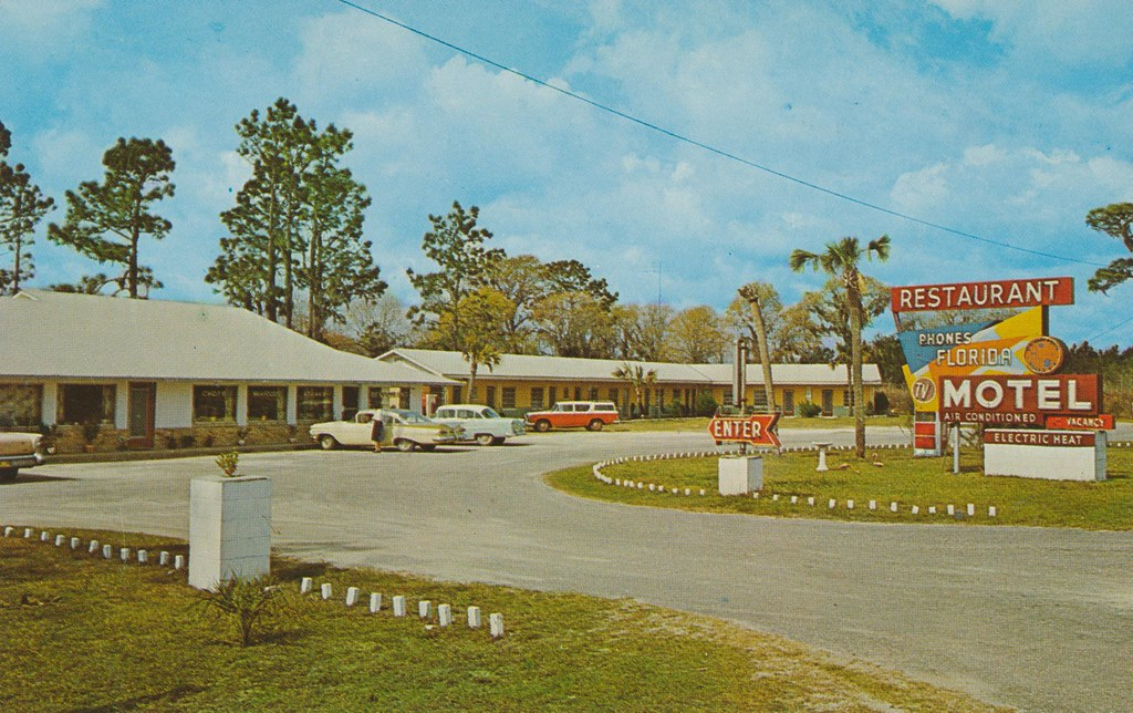 Florida Motel & Restaurant - Cross City, Florida