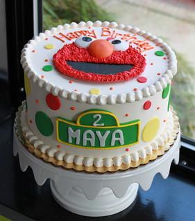 Elmo Birthday Cake Youtube