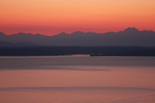 Puget Sound at Dusk | by Han Shot First
