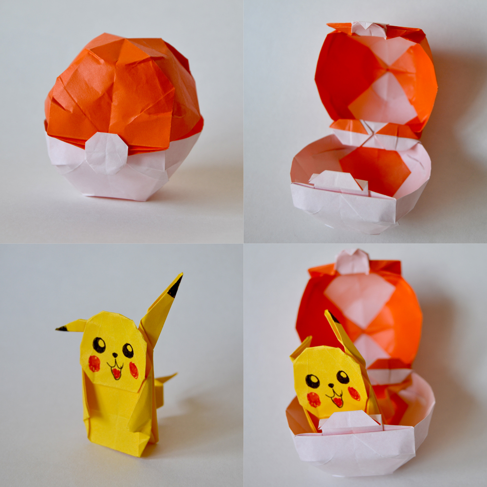 217 e 218-Pokeball e Pikachu