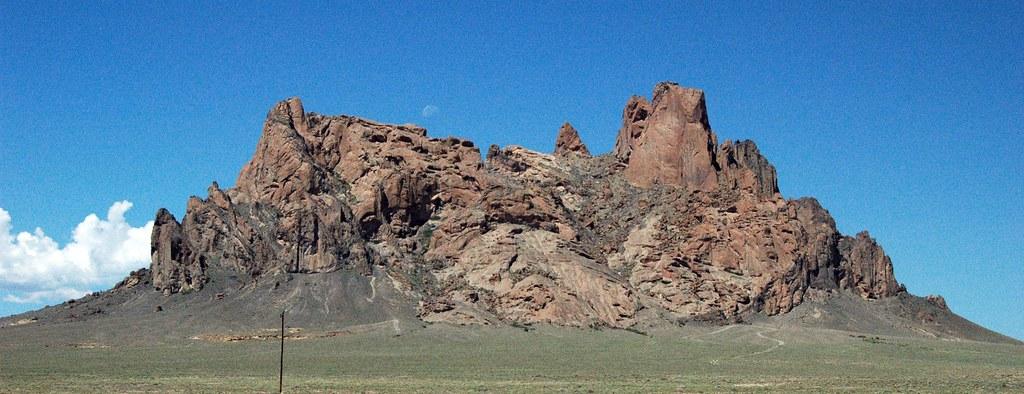 Bennett Peak Navajo Volcanic Field Northwestern New Mexi