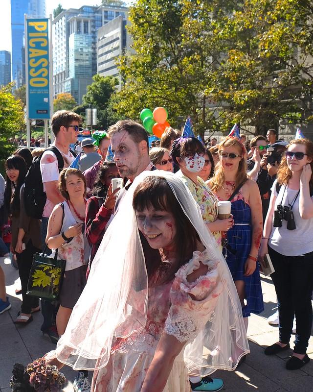 Vancouver Zombiewalk 2016 | Vancouver Art Gallery