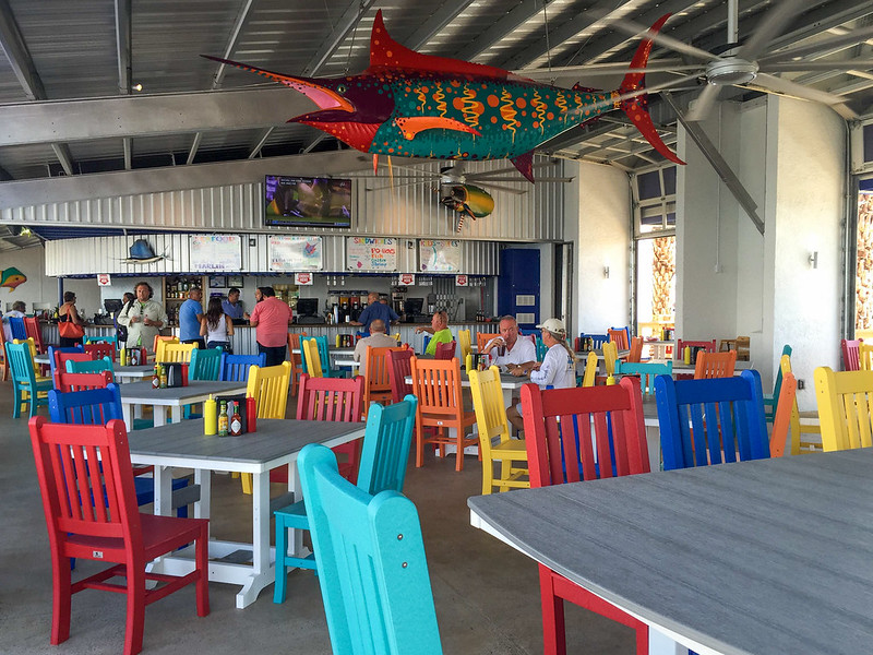 The Grille at Jim's Pier on South Padre Island