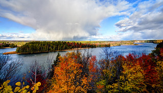 Changing Skies over the Au Sable HDR | by hz536n/George Thomas