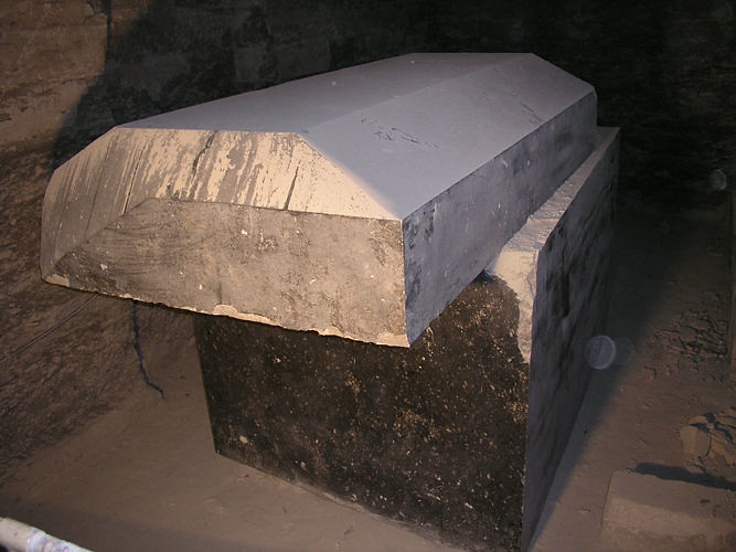 Serapeum Sarcophagus | Another view of one of massive sarcop… | Vincent Brown | Flickr