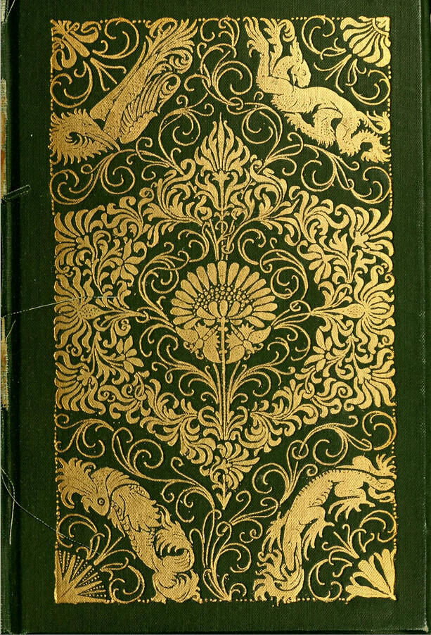 How To Make Beautiful Book Cover : Book cover of nature in ornament by lewis f day flickr