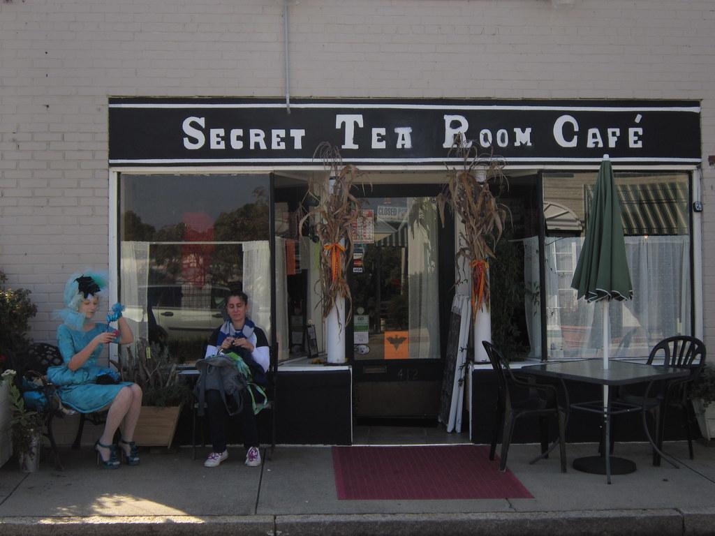Secret Tea Room Stone Menu