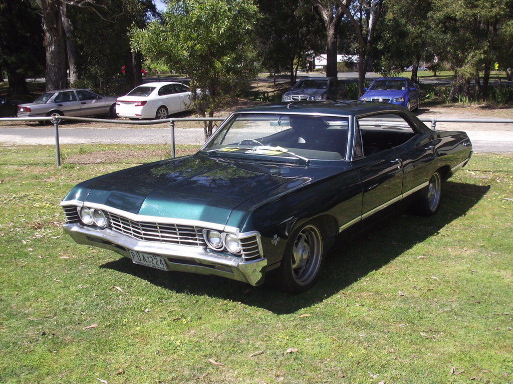 1967 chevrolet impala 4 door hardtop rarely seen is this 88842