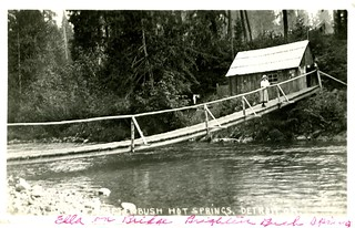 Ella on Bridge Breitenbush Springs | by OSU Special Collections & Archives : Commons