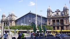 Budapest-Nyugati Railway Terminal