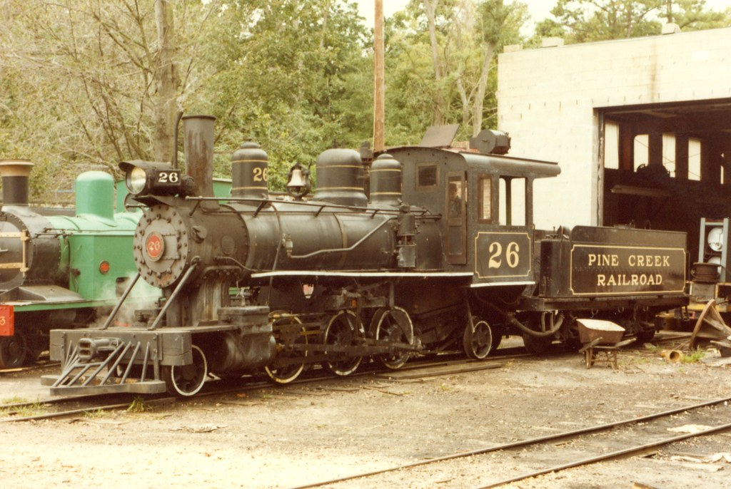 Pine Creek Railroad 3 Gauge 2 6 2 26 Ex Surrey Sussex