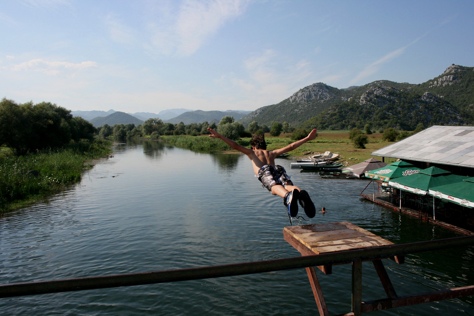 Swallow dive into River Karatuna | by Undiscovered Montenegro