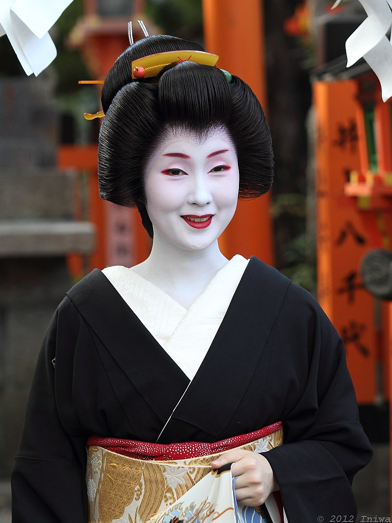 Geiko Kyōka 杏佳 | Kyoto, Japan. Congratulations to Kyōka ... Geisha