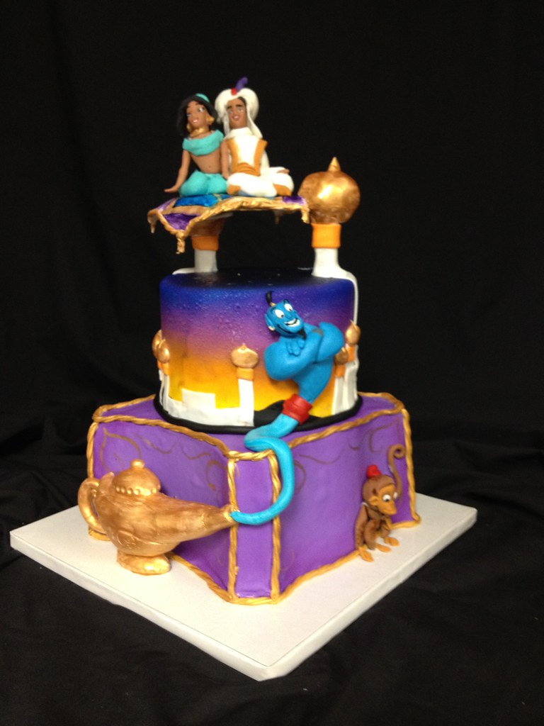 Aladdin Cake Kick Ass Kakes Flickr