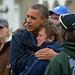 O presidente dos Estados Unidos, Barack Obama, prometeu nesta quarta-feira às vítimas da supertempestade Sandy que o governo federal irá fornecer ajuda