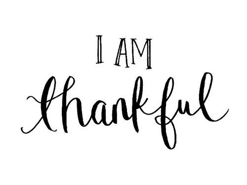 Thankful For Good Food