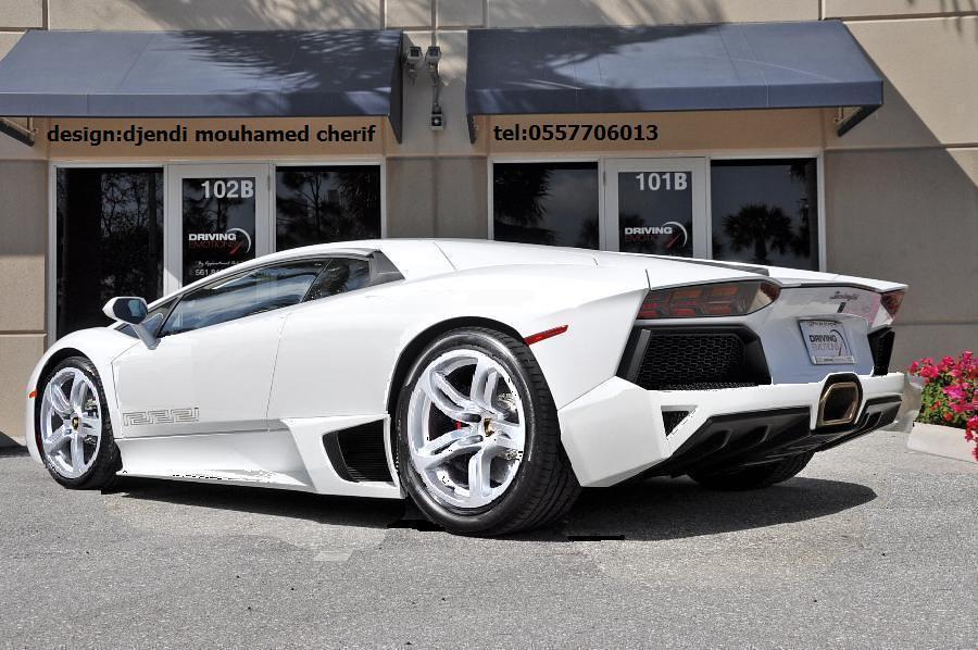 Lamborghini Murcielago Concept Design By Djendi Mouhamed C Flickr