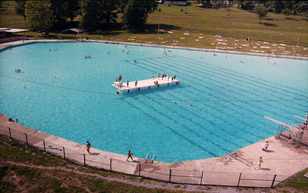 Oak Ridge Swimming Pool 1968 Flickr Photo Sharing