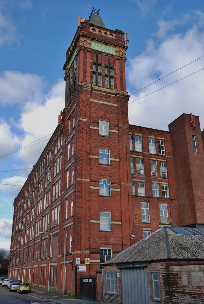 Falcon Mill Halliwell Bolton Built In 1907 Andf The