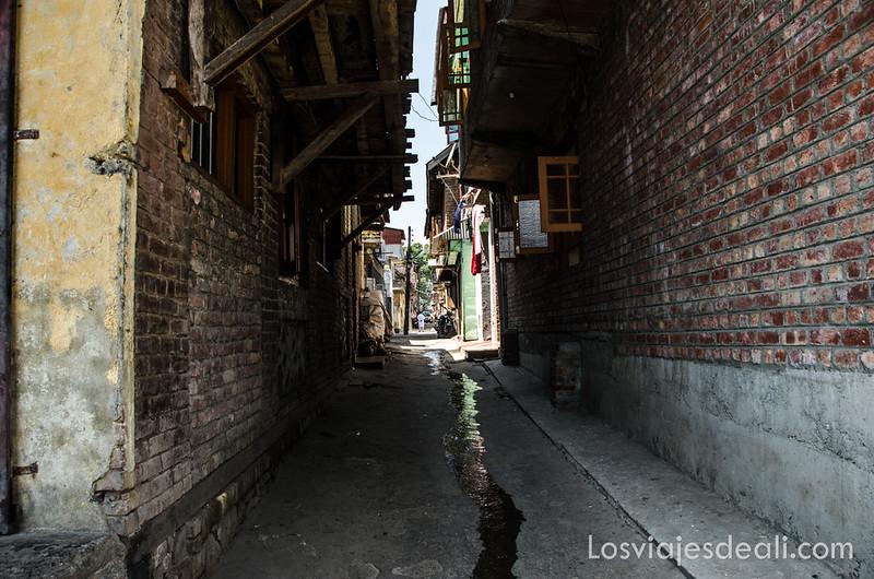 calles de Srinagar