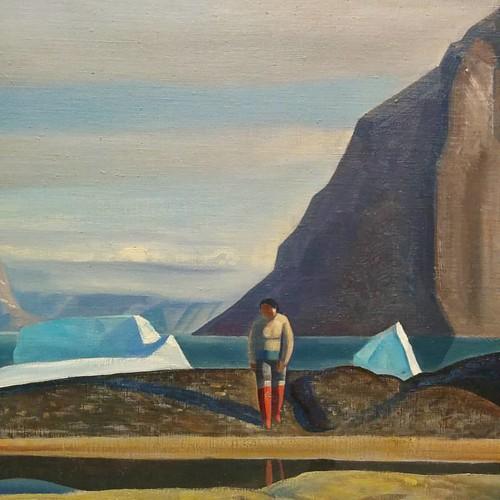 From Icebergs, Greenland, Rockwell Kent #toronto #artgalleryofontario #ago #theideaofnorth #rockwellkent #greenland #iceberg