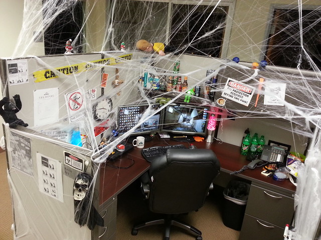 My Halloween Cubicle 2012 | Flickr - Photo Sharing!