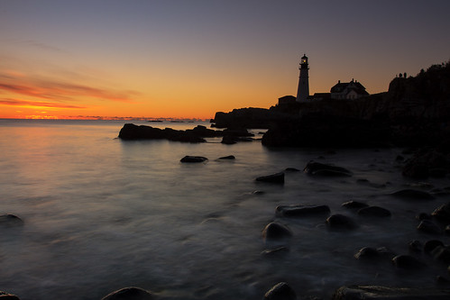 Kelby Photowalk at Portland Head - Silhouette | by Tom Whitney Photography