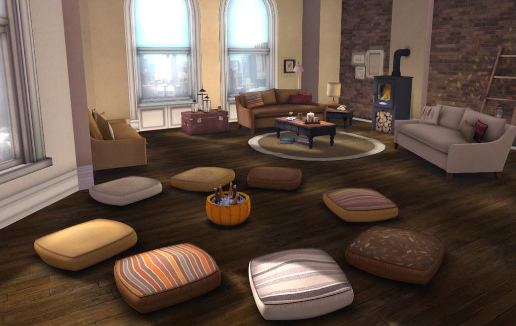 modular floor pillows. Charlotte Floor Pillows ( Autumn): Lazy Sunday | By What Next/Winter Thorn Modular N