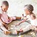 Children playing in the street, Kigamboni, Tanzania