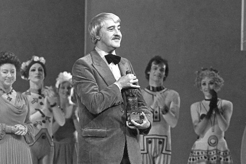 Kenneth MacMillan after being presented with the 1978 Evening Standard Award © Donald Southern | by Royal Opera House Covent Garden