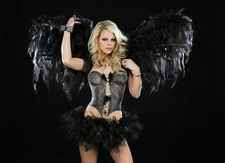 bodypaint | model: ashley roberts photographer: michael