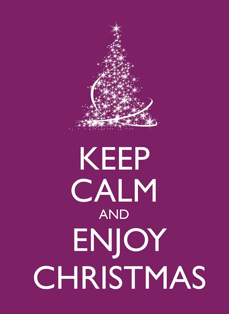 Keep Calm And Enjoy Christmas Flickr Photo Sharing