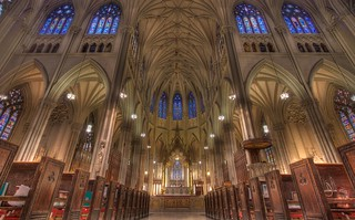 Saint Patrick's Cathedral Nave, New York | by notmydayjobphotography