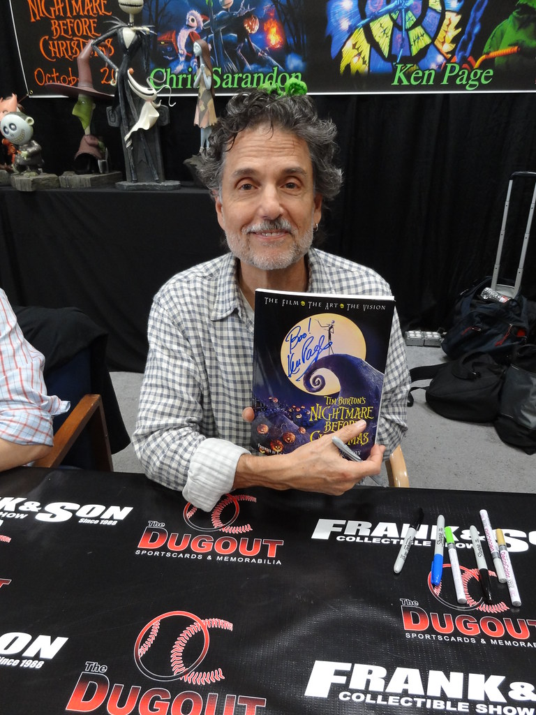 Actor Chris Sarandon (voice of Jack Skellington, from \
