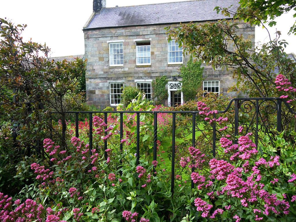 The Overgrown Garden I Loved All The Pink Valerian In