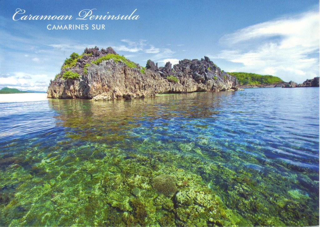 Caramoan Island Map