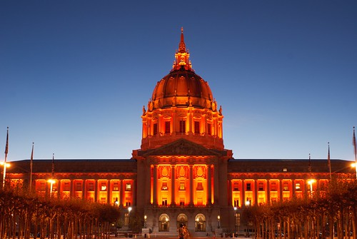 Orange October in San Francisco Civic Center | by Ramses Leroi