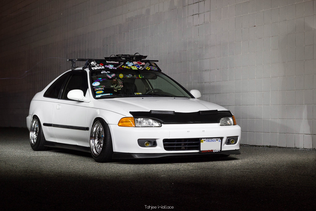 White Honda Accord >> Junior Smiths Stanced EG Coupe | My shadow kills this ...