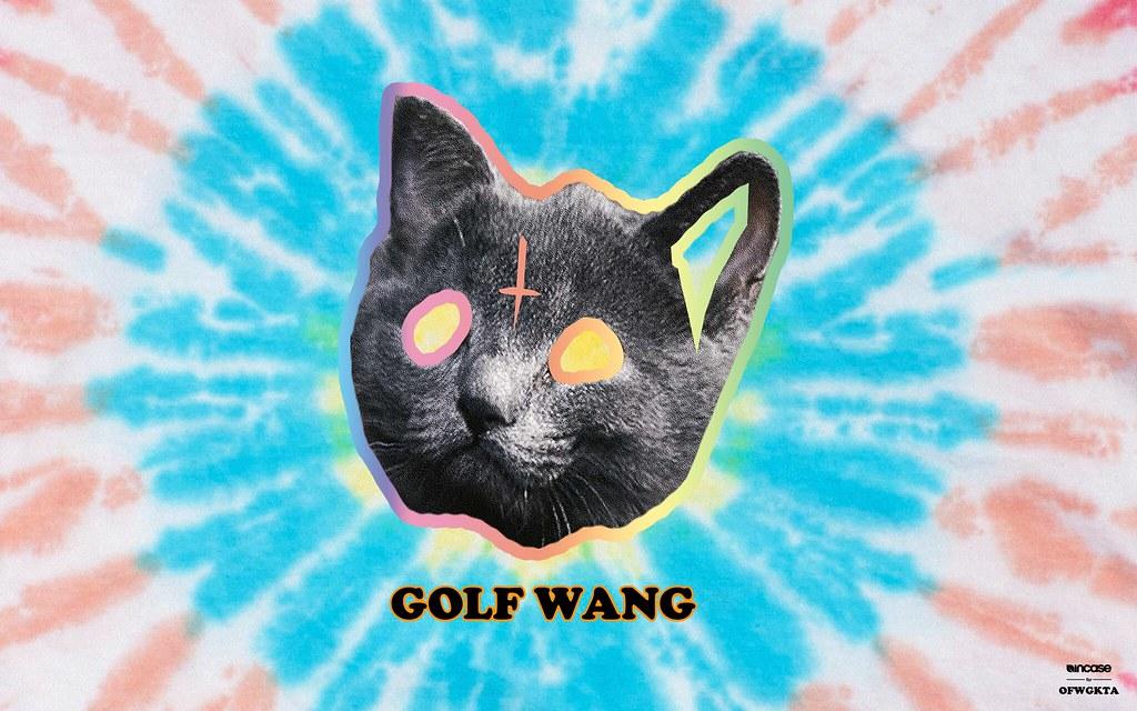 Odd Future Tron Cat Tie Dye Blue | Incase | Flickr