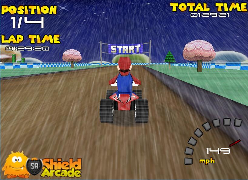 3doyunlarcom 3d Mario Motor Yarışı 1 Www3doyunlarco Flickr