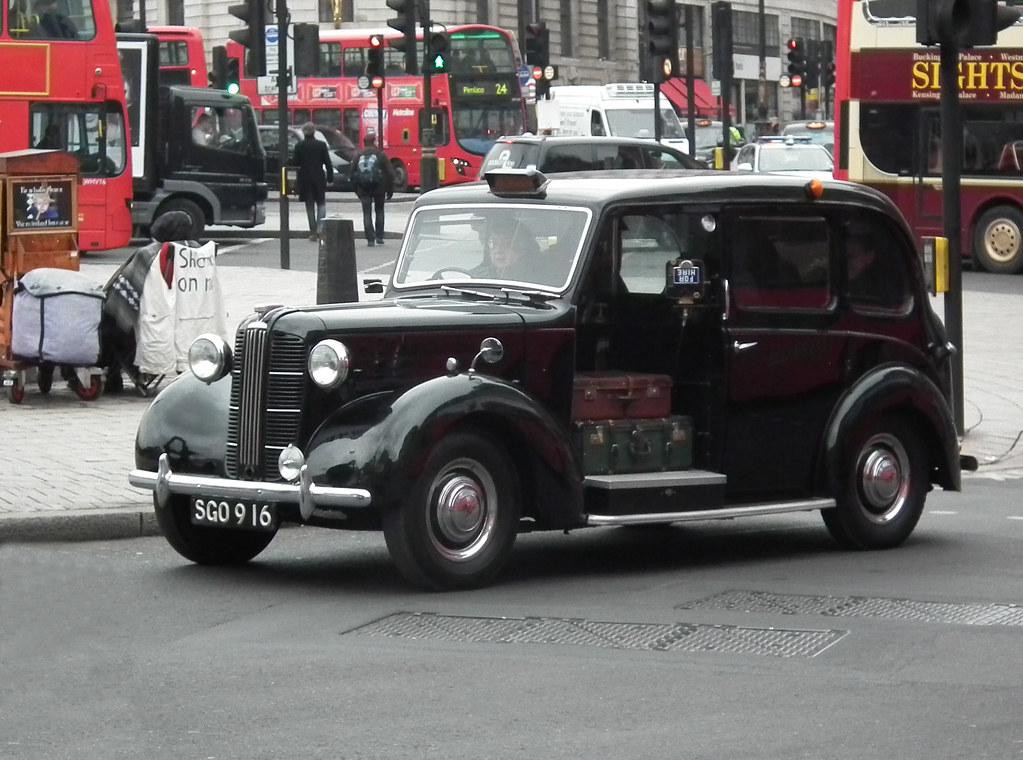 Austin Fx3 1956 Austin Carbodies Fx3 London Black Cab