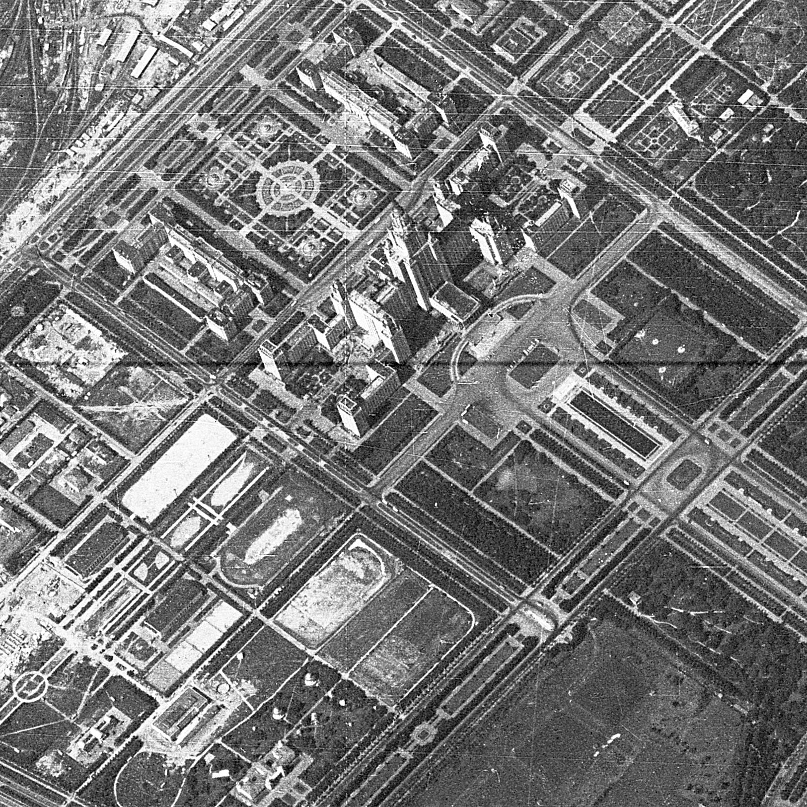 Старые фото со спутника москва