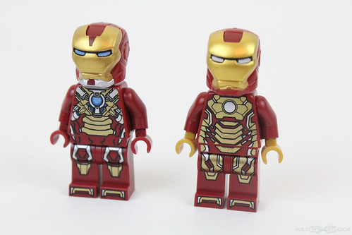 LEGO Iron Man 3 Suits Mark 8 and MK 42 Official 2013 Super ...