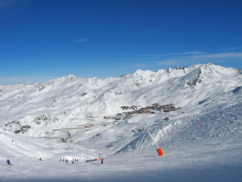 how to get to val thorens from london