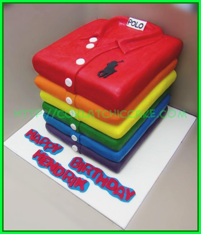 Cake Polo Tshirt